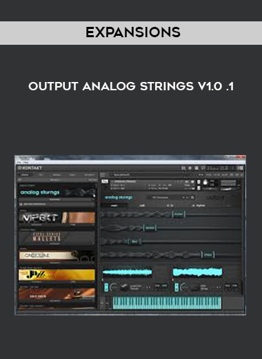 Expansions - Output Analog Strings v1.0 .1 by https://lobacademy.com/