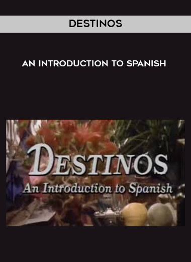 Destinos - An Introduction to Spanish by https://lobacademy.com/