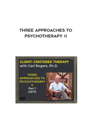 Three Approaches To Psychotherapy. II by https://lobacademy.com/