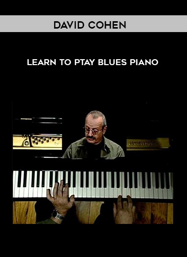 David Cohen - Learn To Ptay Blues Piano by https://lobacademy.com/
