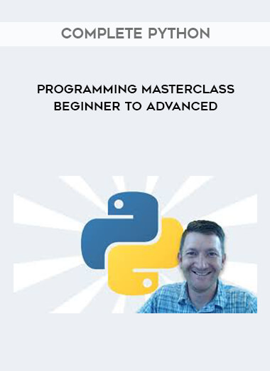 Complete Python Programming Masterclass Beginner to Advanced by https://lobacademy.com/