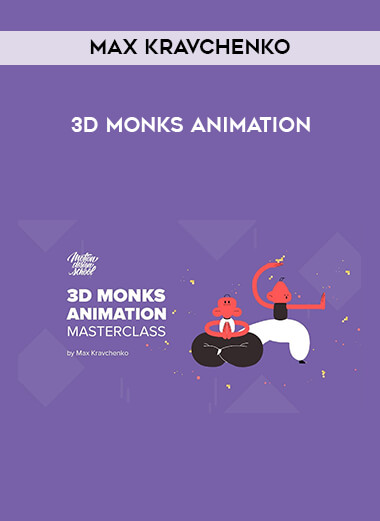 3D Monks Animation by Max Kravchenko by https://lobacademy.com/