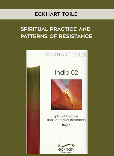 Eckhart Toile - Spiritual practice and patterns of resistance by https://lobacademy.com/