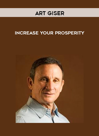 Art Giser - Increase Your Prosperity by https://lobacademy.com/