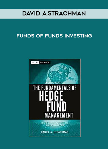David A.Strachman - Funds of Funds Investing by https://lobacademy.com/