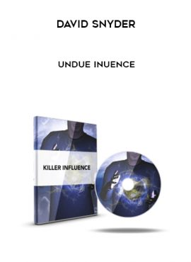 David Snyder – Undue Inuence by https://lobacademy.com/
