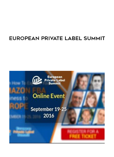 European Private Label Summit by https://lobacademy.com/