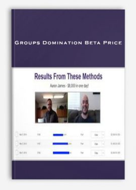 Groups Domination Beta Price (Johnny West - 6 Figure Facebook Groups) by https://lobacademy.com/