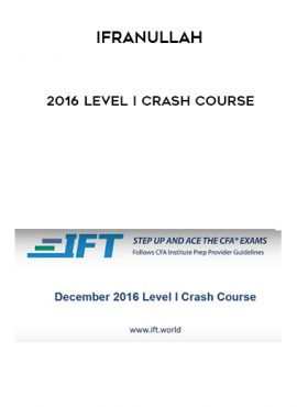 IfraNullah – 2016 Level I Crash Course by https://lobacademy.com/