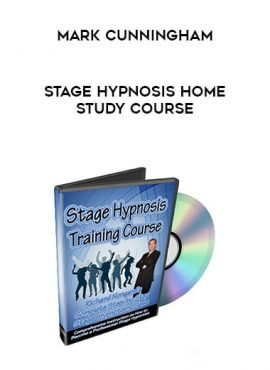 Mark Cunningham - Stage Hypnosis Home Study Course by https://lobacademy.com/