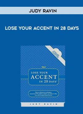 Judy Ravin - Lose Your Accent in 28 Days by https://lobacademy.com/