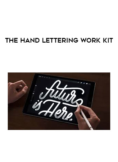 The Hand Lettering Work Kit by https://lobacademy.com/