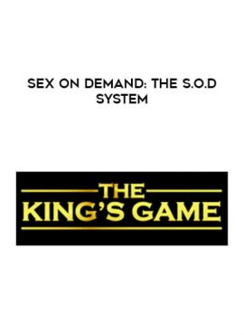 Sex On Demand: The S.O.D System by https://lobacademy.com/