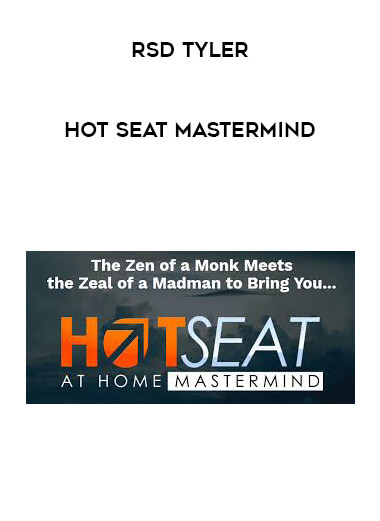 Hot Seat Mastermind by RSD Tyler by https://lobacademy.com/