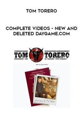Tom Torero - COMPLETE Videos - New and Deleted Daygame.com by https://lobacademy.com/