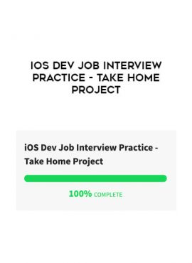 iOS Dev Job Interview Practice - Take Home Project by https://lobacademy.com/