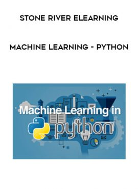 Stone River eLearning - Machine Learning - Python by https://lobacademy.com/