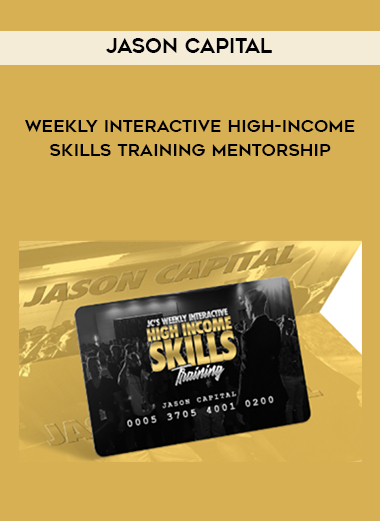 Jason Capital – Weekly Interactive High-Income Skills Training Mentorship by https://lobacademy.com/
