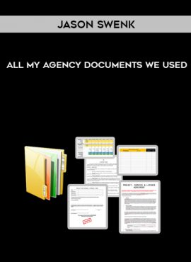Jason Swenk – All My Agency Documents We Used by https://lobacademy.com/