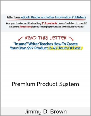 Jimmy D. Brown – Premium Product System by https://lobacademy.com/
