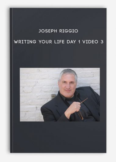 Joseph Riggio - Writing Your Life Day 1 Video 3 by https://lobacademy.com/