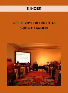 Kinder-Reese 2011 Exponential Growth Summit by https://lobacademy.com/