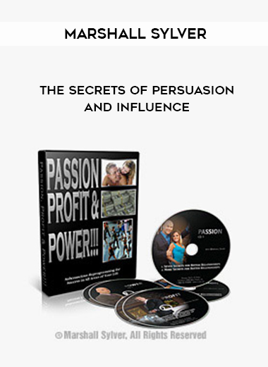 Marshall Sylver – The Secrets of Persuasion and Influence by https://lobacademy.com/