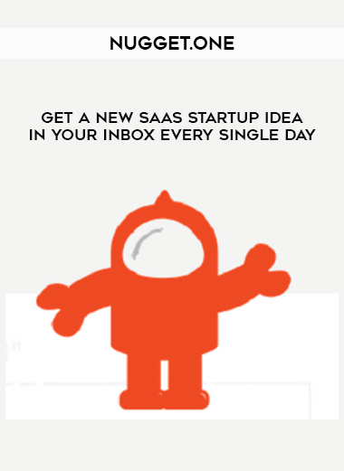 Nugget.one – Get a New SaaS Startup Idea in Your Inbox Every Single Day by https://lobacademy.com/