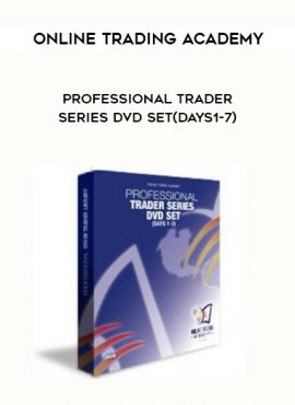 Online Trading Academy Professional Trader Series DVD Set(Days1-7) by https://lobacademy.com/