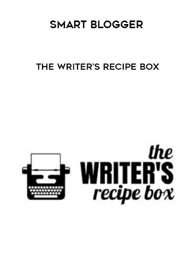 Smart Blogger – The Writer's Recipe Box by https://lobacademy.com/