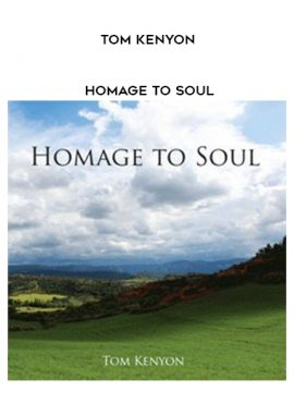 Tom Kenyon - Homage To Soul by https://lobacademy.com/