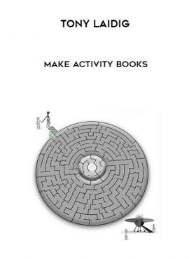 Tony Laidig - Make Activity Books by https://lobacademy.com/