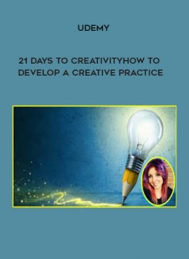 Udemy - 21 Days to Creativity: How to Develop a Creative Practice by https://lobacademy.com/