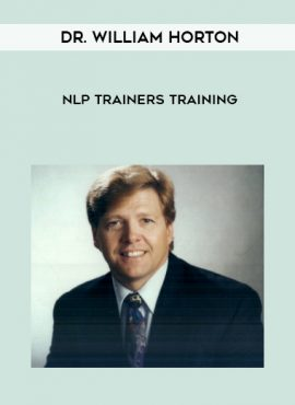 Dr. William Horton – NLP Trainers Training by https://lobacademy.com/